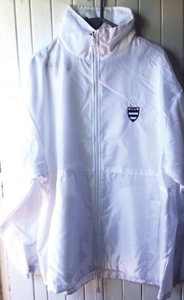 White Rain Jacket Unisex  XS-XXXL