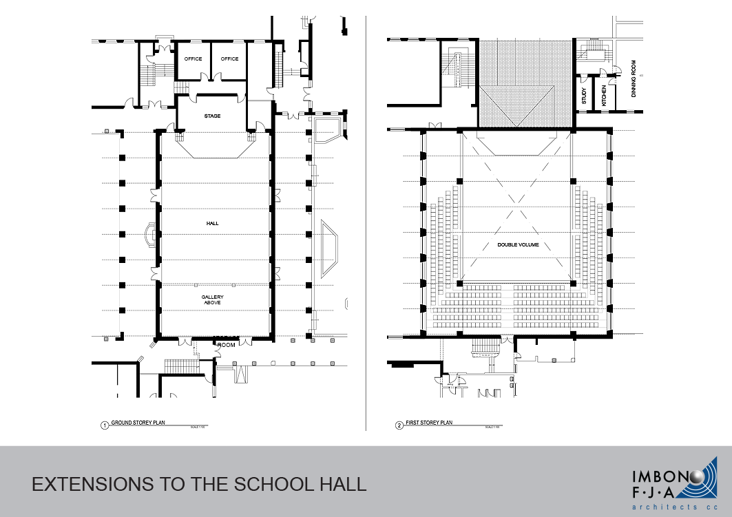 Grey School Hall FLOOR PLANS